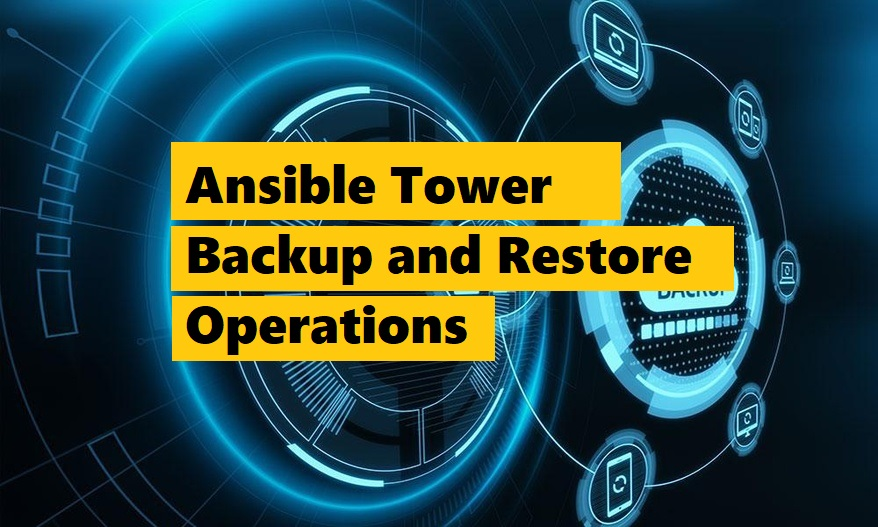 Ansible Tower - How to Backup and Restore